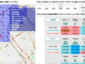 未来の「都市」を考える〜My City ForecastによるSDGs時代の街づくり〜