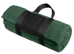 Port Authority® Fleece Blanket with Carrying Strap