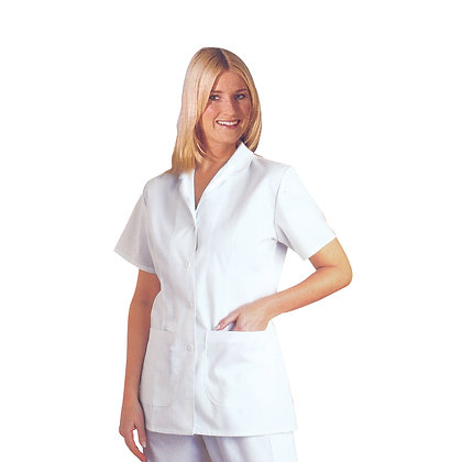 105 - Short sleeve Lab coat.