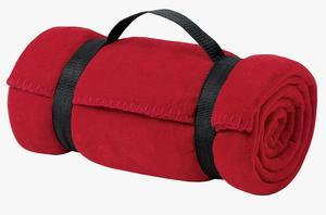 Port & Company® - Value Fleece Blanket with Strap.
