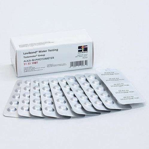 Alka-M Photometer Tablets