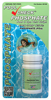 Pool Check Phosphate Test Strips - 50 Strips