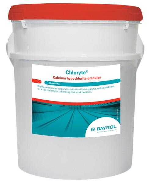 Chloryte Standard Granules 25kg Murtec Icd Swimming Pool Maintenance West Midlands