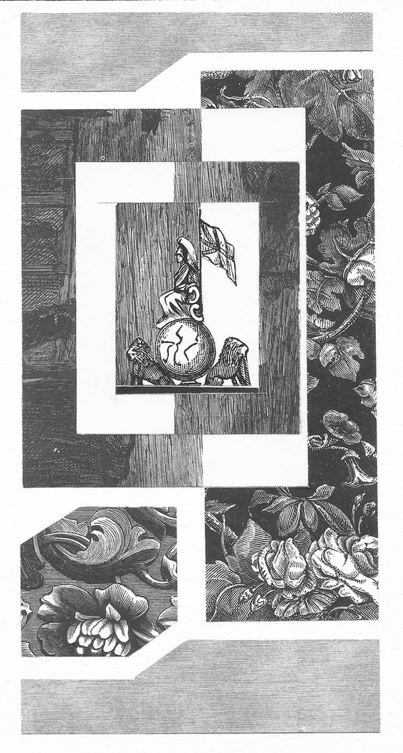 """""""Se ha descrito el collage como un viejo pasatiempo de jardín de niños consistente en cortar y pegar, sólo que llevado a una escala adulta y moderna. El collage es una forma artística del siglo XX que emplea la técnica básica del decoupage (técnica originada en Francia a finales del siglo XVII, generalmente dentro de las limitaciones de un marco), para crear una proposición artística con la misma fuerza y profundidad que una pintura ejecutada al óleo, acuarela o algún otro medio de expresión. Picasso fue uno de los primeros pintores modernos que usó esta técnica, combinando distintos materiales con pintura en un lienzo.""""  Encyclopaedia Britannica"""