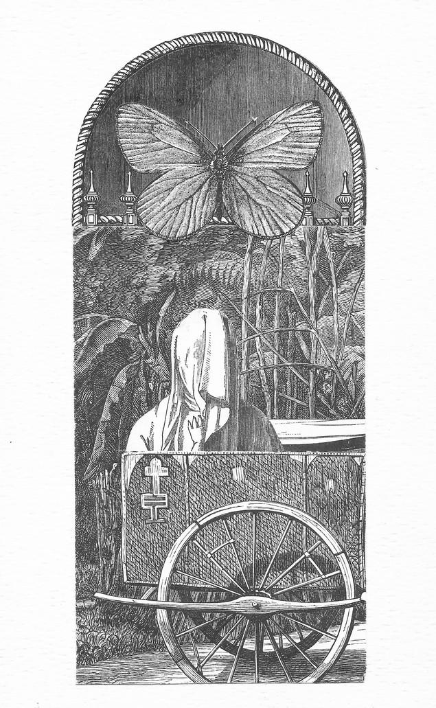"""""""El collage sustituye el viejo método de expresión por uno nuevo, de fuerza y alcance inimaginables… restituye a las viejas preocupaciones pictóricas su genuino significado, al evitar que el pintor caiga preso de su propio narcisismo -en-el-arte-por-el-arte- al conducirlo nuevamente a las prácticas mágicas que son el origen y la justificación de las representaciones plásticas que tantas religiones han prohibido.""""  Louis Aragon"""