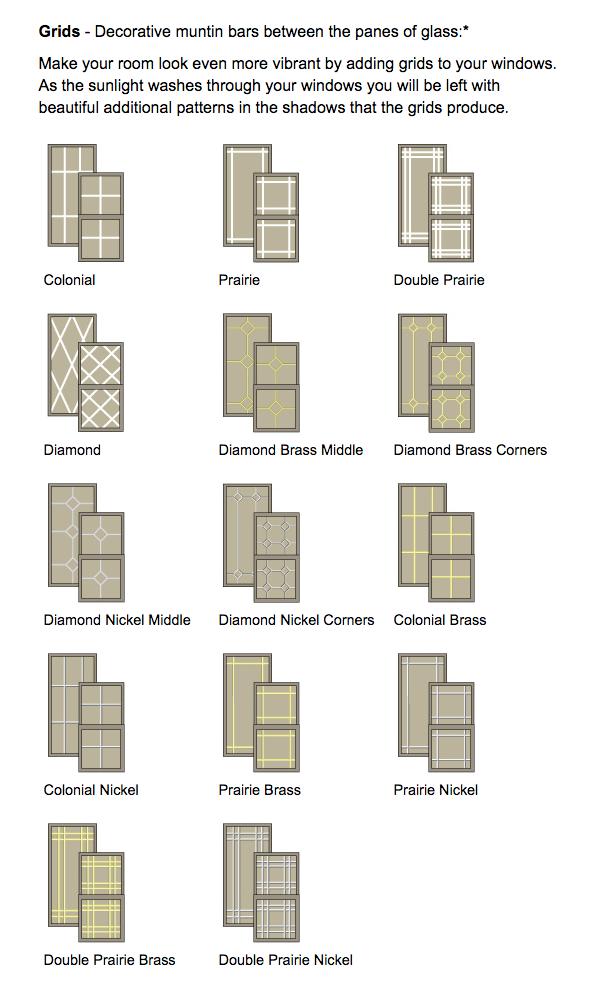 Milwaukee Windows - Grids