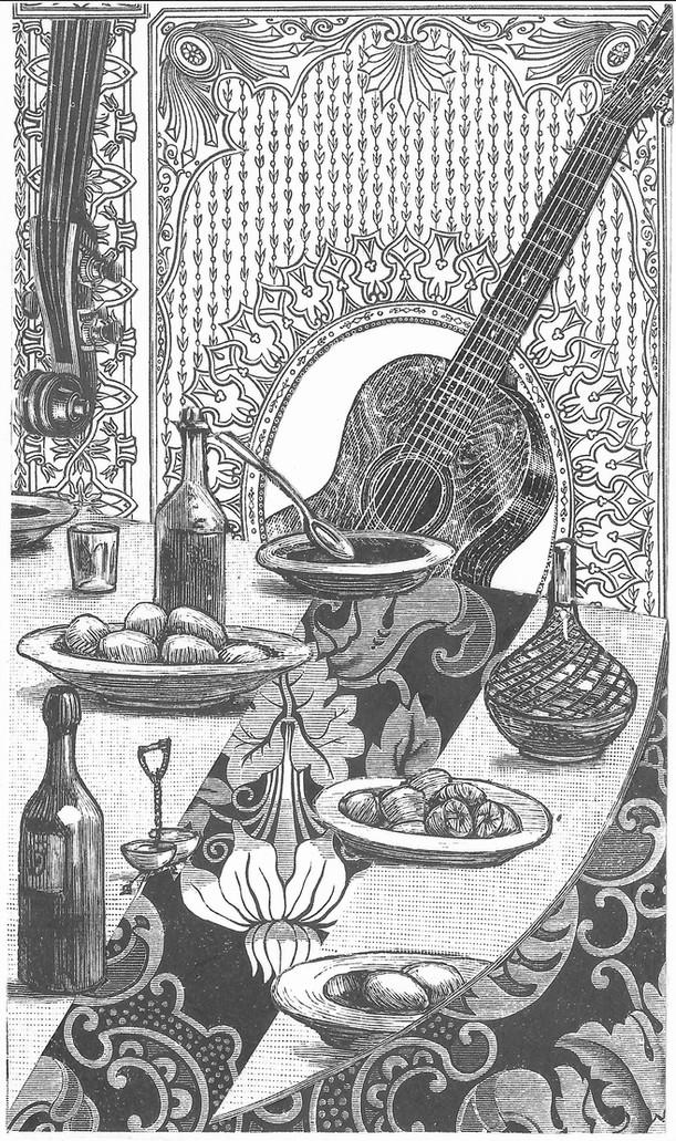 """""""El pintor mexicano Diego Rivera tomó también parte en el movimiento cubista de París. Entró en contacto con los cubistas durante su segunda estancia en Europa en los años 1911-1912, y expuso con ellos en el Salon d'Automne. Existen dos collages suyos en los que están pegados pedazos de una tapicería 'Renaissance' de dibujo grande. En el primero, titulado Botella de anís e instrumentos de cuerda, fechado en 1913, se perciben influencias de los cuadros de la misma época de Juan Gris. Una composición en dos partes, con una mitad del cuadro dispuesta verticalmente y la otra en diagonal. En el segundo, Bodegón con botella, de 1914, se ve, entre otras cosas, un telegrama dirigido al pintor.""""  Fitzia"""
