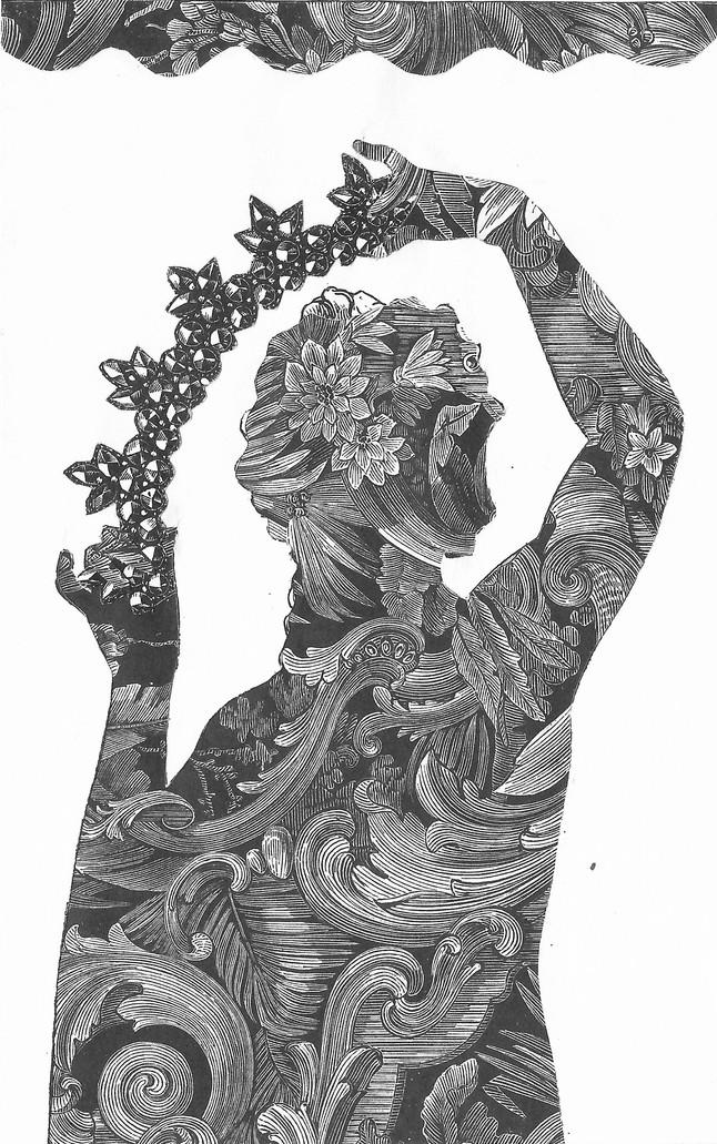 """""""Se dice que la vista de un rollo de papel tapiz en la vitrina de una tienda de Avignon, a finales de 1912, le dio a Georges Braque la revelación de los papeles pegados y de las posibilidades que ofrecía esta técnica. Pero, ¿estaba el artista plenamente consciente de las consecuencias que este descubrimiento tendría para el arte?""""  Florian Rodari"""