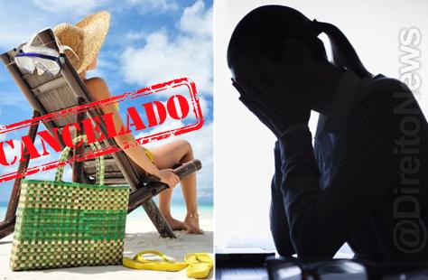 Banco terá de indenizar trabalhadora por cancelar férias poucos dias antes de seu início