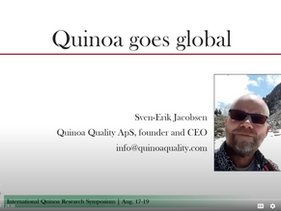 International Quinoa Conference in Washington