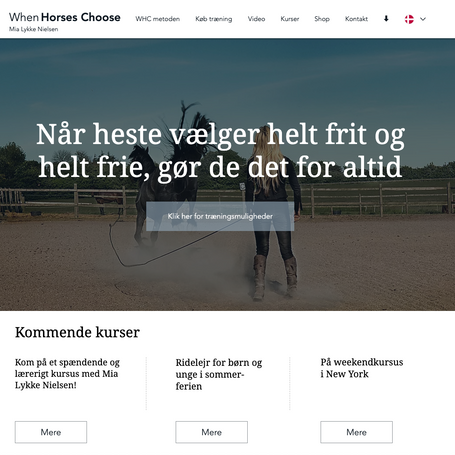 When Horses Choose