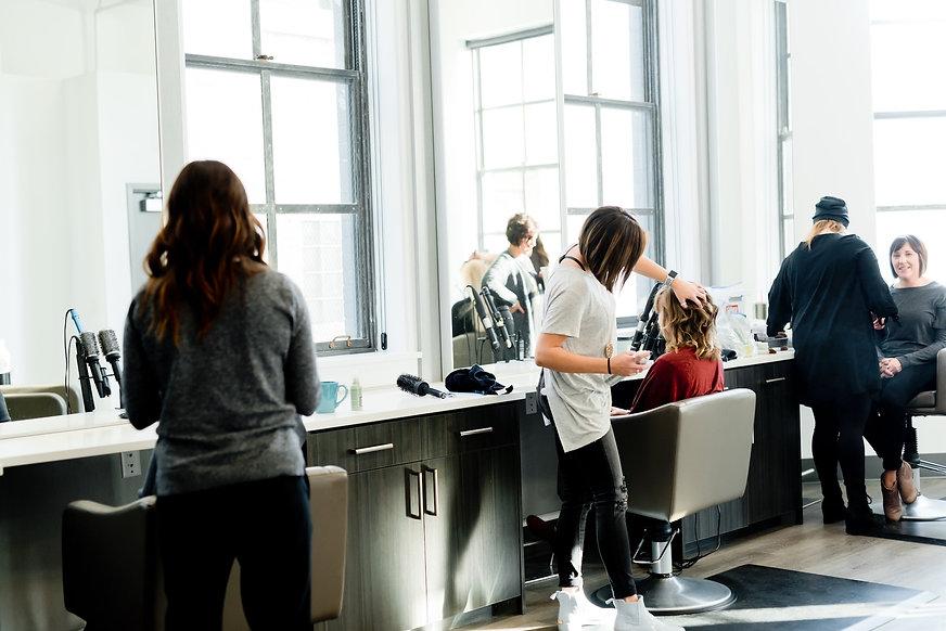 Hjemmeside til frisører fra Webbryggerie