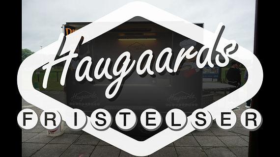 Se Haugaards is og madvogn in action. Book os til jeres næste fest. Ring på telefon 52 92 51 52.