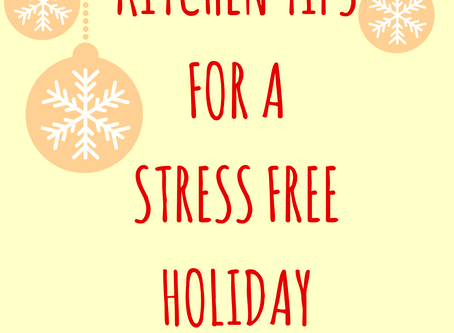 Stress and the Holidays:  A few tips to ensure a successful get together