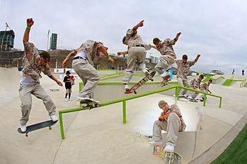 Ángelo Caro campeón skate 2020
