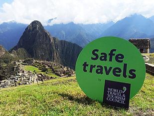 Machu Picchu Safe Travels 2020