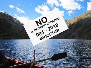Pronunciamiento Frente Defensa turismo Perú 2020