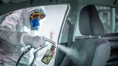 Desinfectar el auto COVID-19