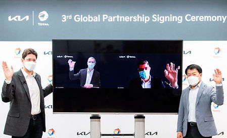 Total y Kia alianza 2021