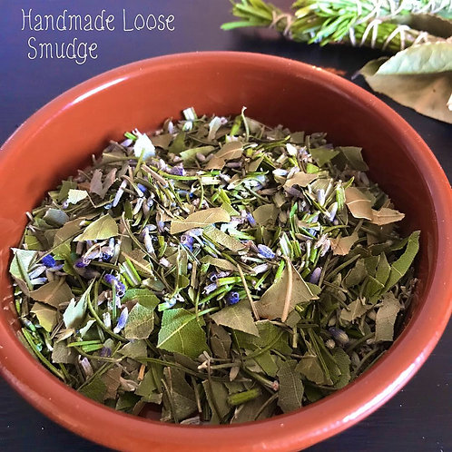 Ceremonial Cleanse & Clear Loose Herbal Smudge
