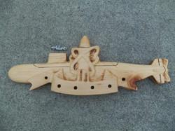 Memorial Navy Pin
