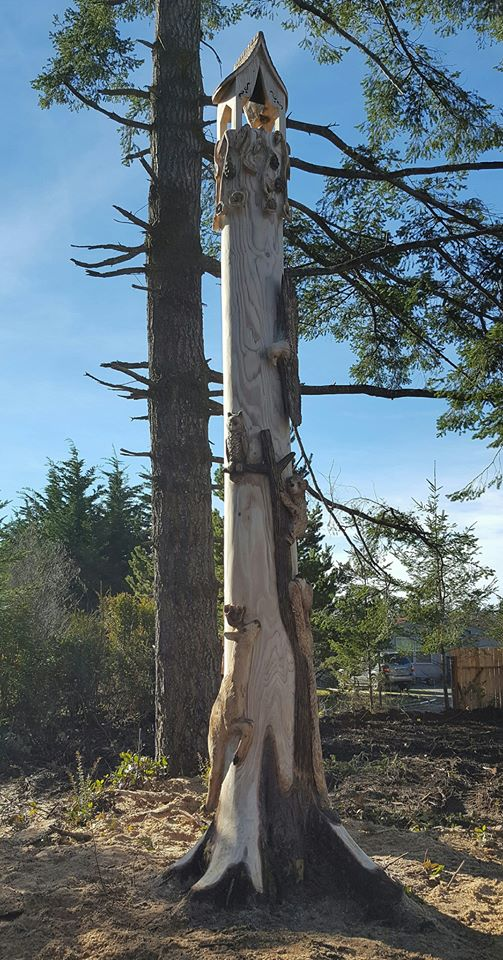 Cottage Stump Carve