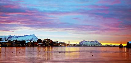 Bodø, présentée par une locale