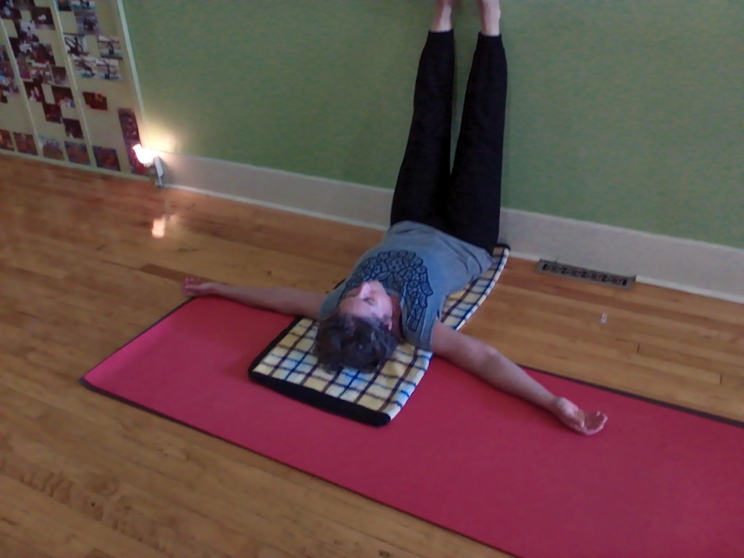 Mondays 4:30 - 5:30 p.m.  Yin Yoga