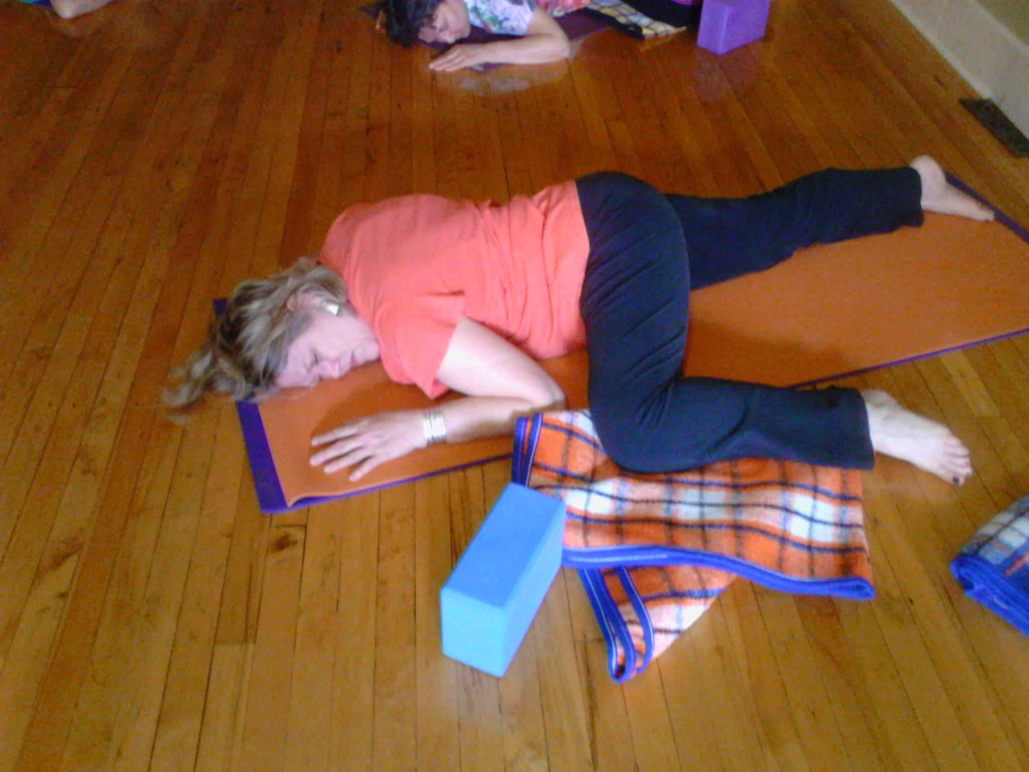 Wednesdays  6:00 - 7:00 p.m.  Hatha Yoga