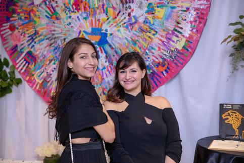 Committee members Tamar and Noeme