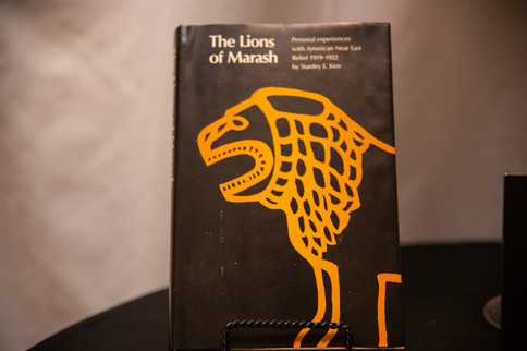The Lions of Marash - Wirtten by Dr. Stanley Kerr