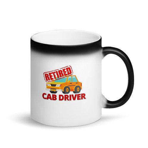 RETIRED CAB DRIVER - Colour Changing Mug