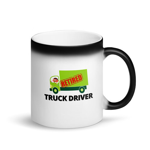 RETIRED TRUCK DRIVER 3 - Colour Changing Mug