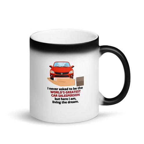 WORLD'S GREATEST CAR SALESPERSON - Colour Changing Mug