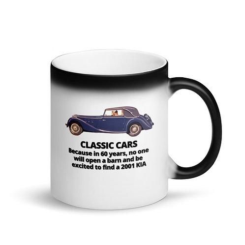 CLASSIC CARS 2 - Colour Changing Mug