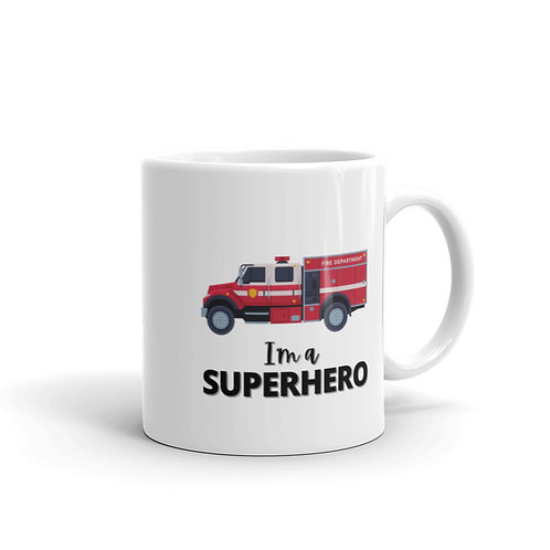SUPERHERO - FIREFIGHTER Mug