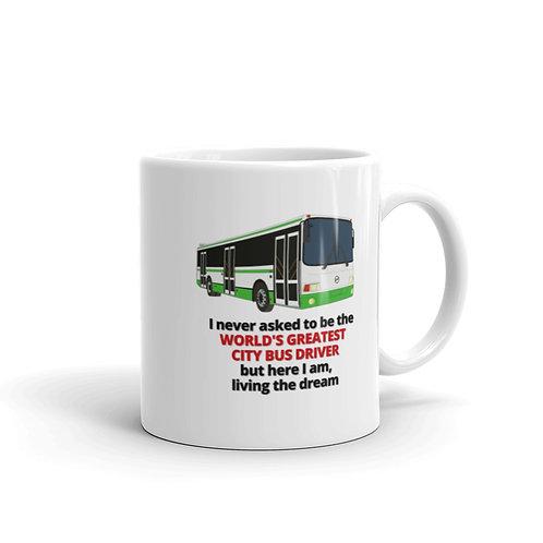 WORLD'S GREATEST CITY BUS DRIVER Mug