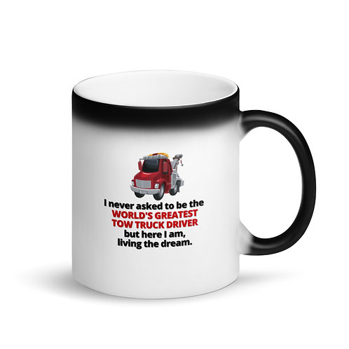 WORLD'S GREATEST TOW TRUCK DRIVER Mug - Colour Changing