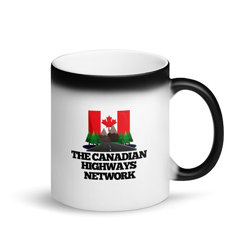 Colour Changing CANADIAN HIGHWAYS NETWORK Mug