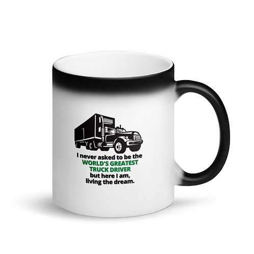 WORLD'S GREATEST TRUCK DRIVER 4 - Colour Changing Mug