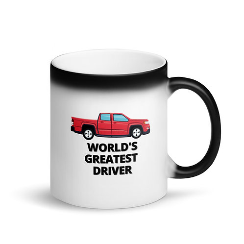 WORLD'S GREATEST DRIVER 5 - Colour Changing Mug