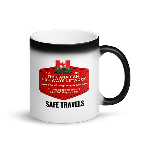 Colour Changing SAFE TRAVELS Mug