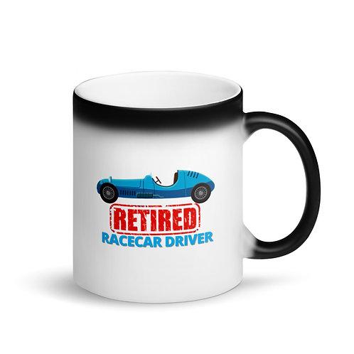 COLOUR CHANGING Mug - RETIRED RACECAR DRIVER