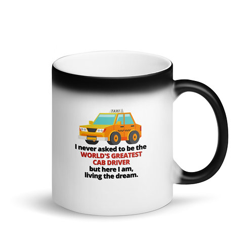 WORLD'S GREATEST CAB DRIVER - Colour Changing Mug