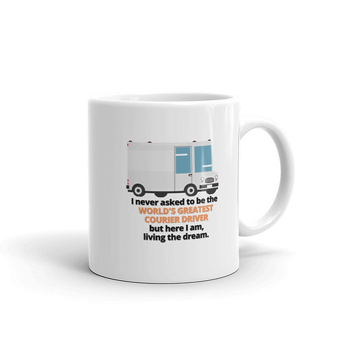 WORLD'S GREATEST COURIER DRIVER 2 Mug