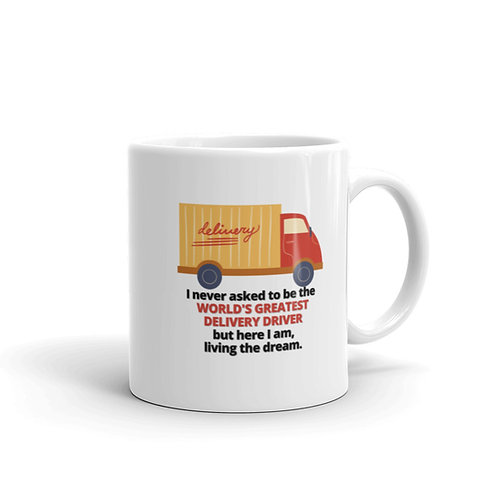WORLD'S GREATEST DELIVERY DRIVER Mug