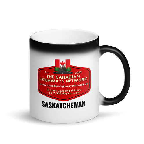Colour Changing SASKATCHEWAN Mug