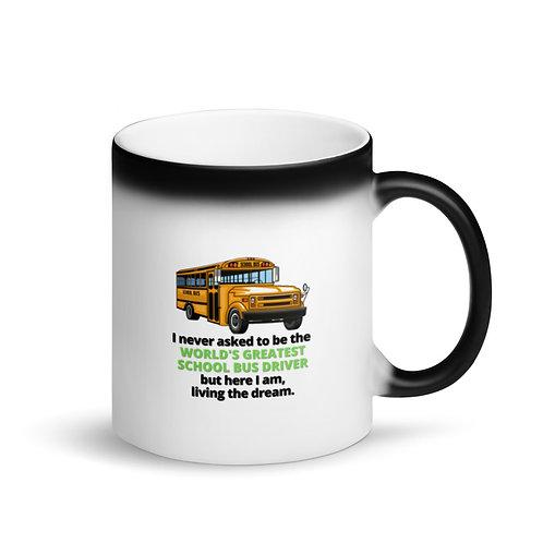 WORLD'S GREATEST SCHOOL BUS DRIVER - Colour Changing Mug