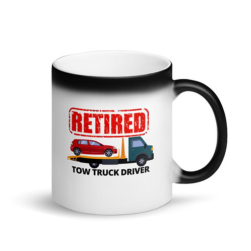 RETIRED TOW TRUCK DRIVER 3 - Colour Changing Mug