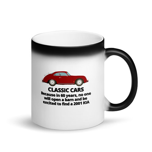 CLASSIC CARS - Colour Changing Mug